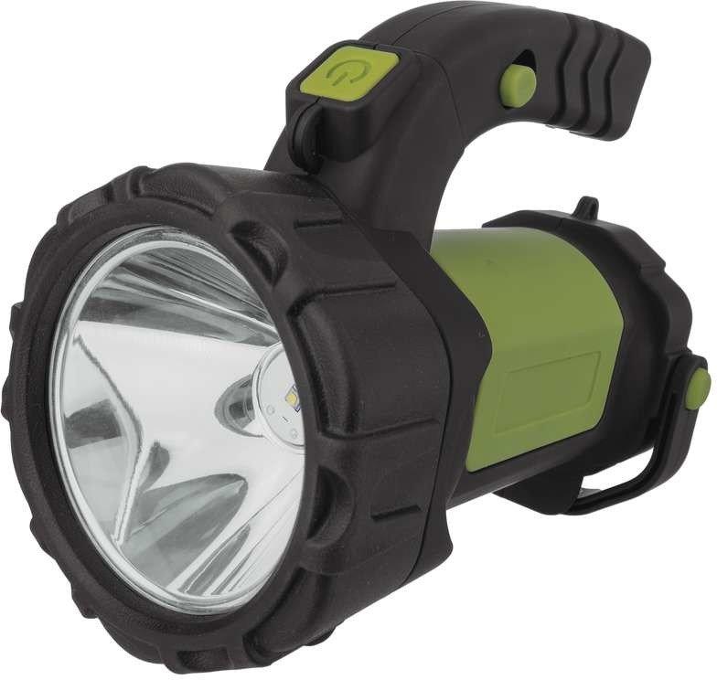 LED svítilna nabíjecí 5W CREE + 1.5W COB