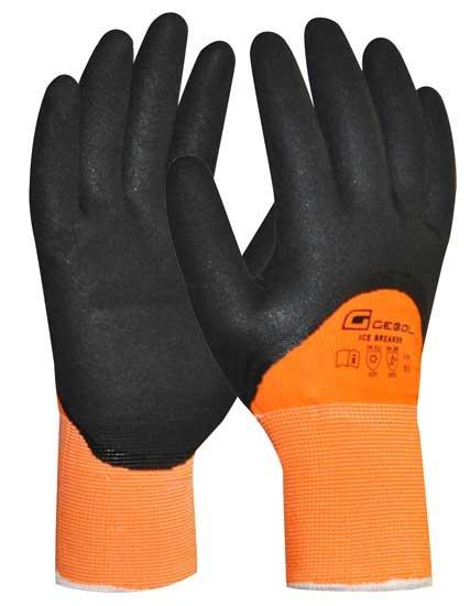 Pracovní rukavice zimní polomáčené Ice Breaker - 9