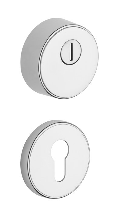 Rostex R3/S rozetové kruhové přídavné bezpečnostní kování - Ti