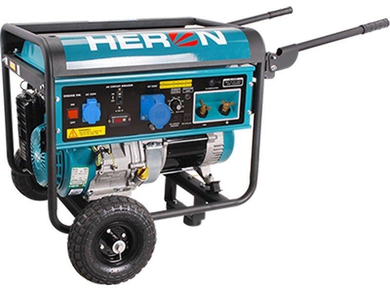 Heron 8896310 elektrocentrála 5,5kW se svářečkou 220A