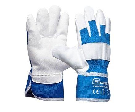 92b9dcfc1f9 Pracovní rukavice dětské Premium Blue Junior