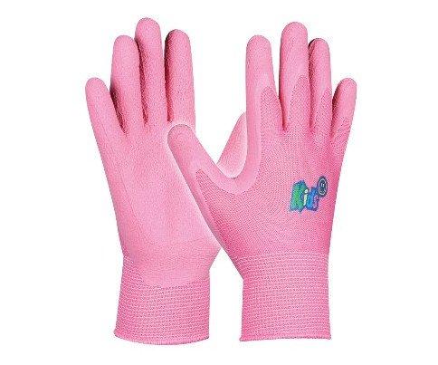 Pracovní rukavice dětské Kids - růžová
