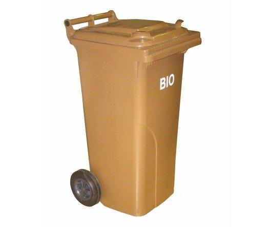 Popelnice na bio odpad plastová s roštem - 120l
